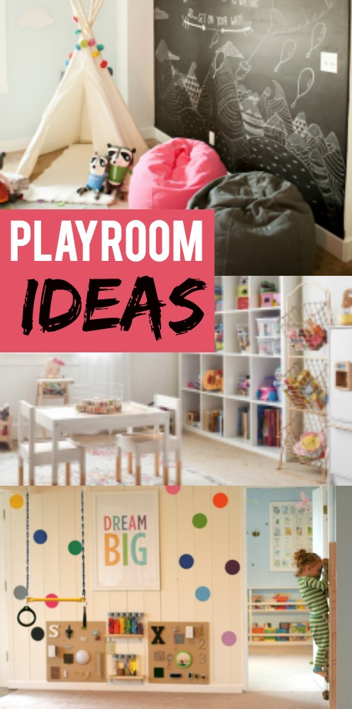 Children's Playrooms are beautiful and fun, but don't have to break the budget.