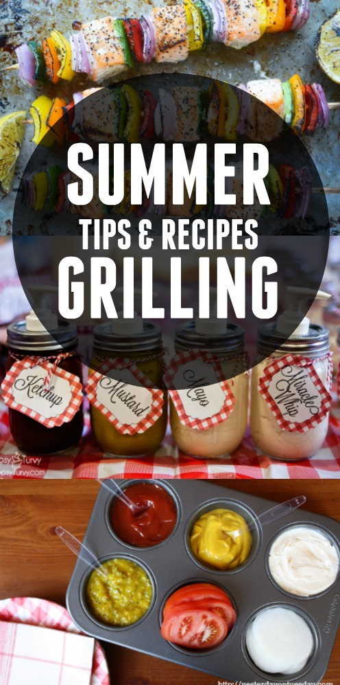 Summer Grilling Tips and Recipes to help you plan your summer entertaining!