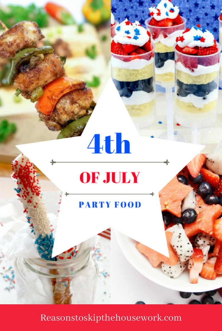 4th Of July Party Foods That Are Patriotic And Delicious