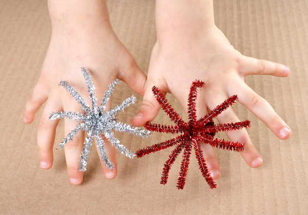 Fourth of July Crafts for Kids: Firework Rings