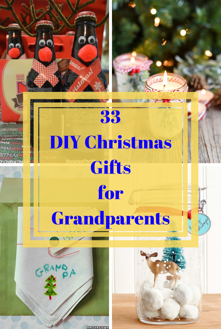 DIY Christmas Gifts for Grandparents - REASONS TO SKIP THE HOUSEWORK