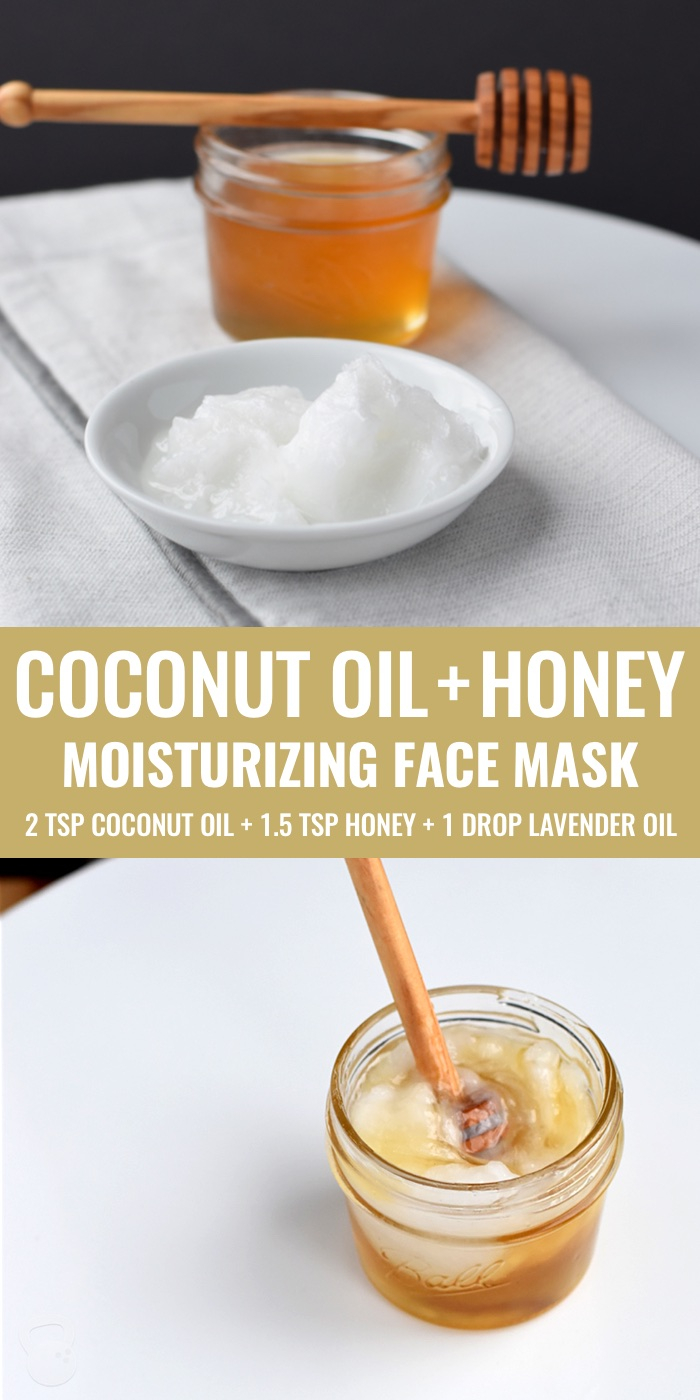Ways To Use Coconut Oil - Coconut oil and honey mask