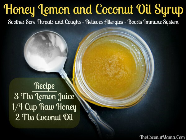 Ways To Use Coconut Oil - Oil Syrup