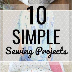 Whether you want to try your hand atsewing, or you already know how to sew, but don't have a lot of time, here are10 simple sewing projects anyone can do.