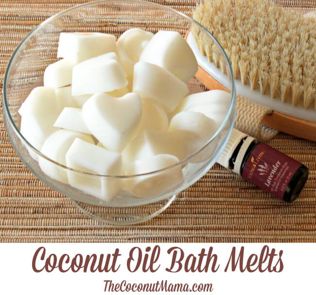 Ways To Use Coconut Oil - Bath Melts