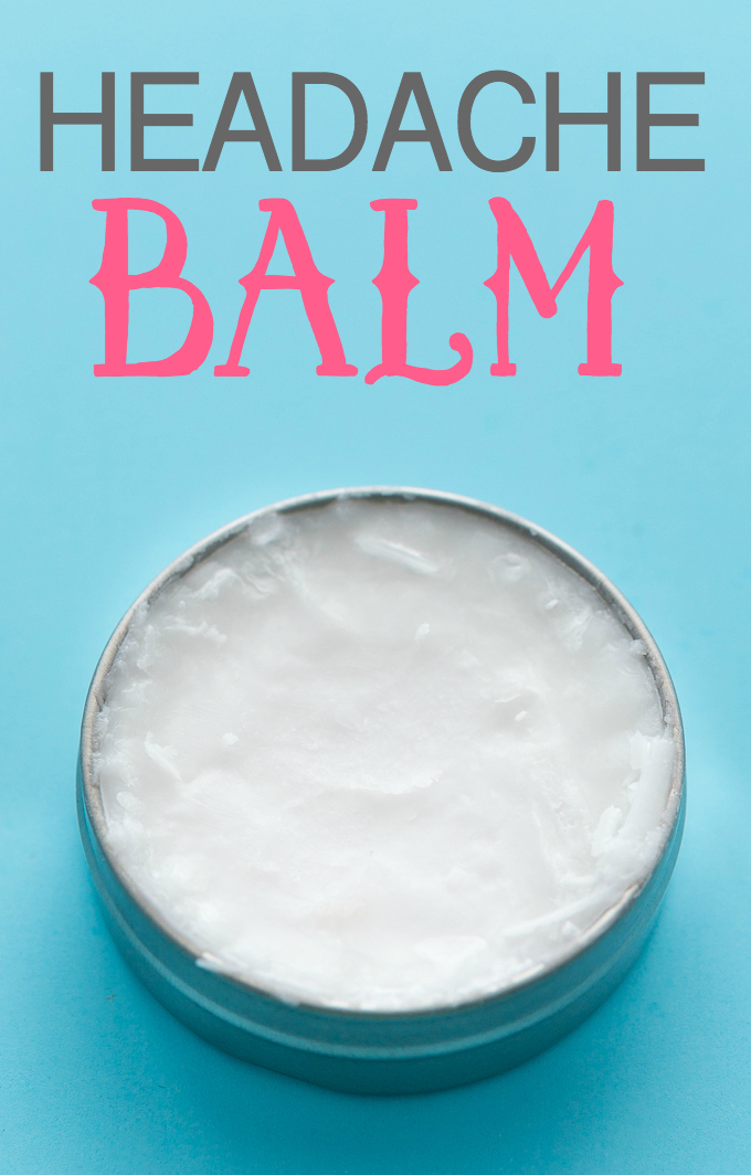 Ways To Use Coconut Oil - Headache Balm