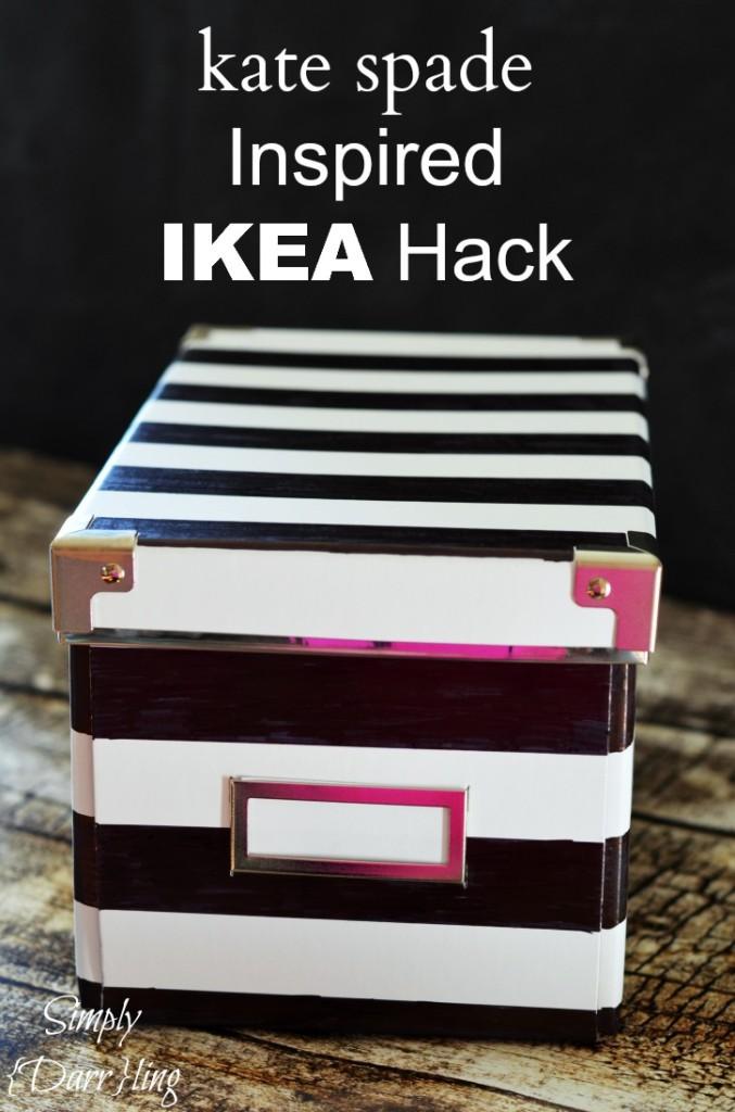 http://simplydarrling.com/2014/04/kate-spade-inspired-ikea-hack/