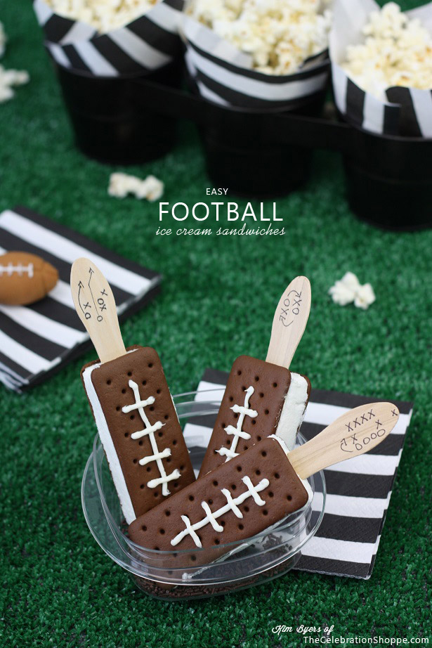 If you've got a house that becomes the Football House for the next few months, you have to have the best Fun Football Party Ideas.