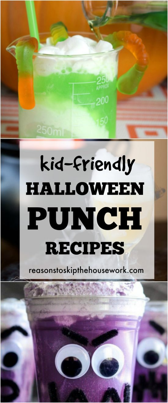 Kid Friendly Halloween Punch Recipes That Are Sure To
