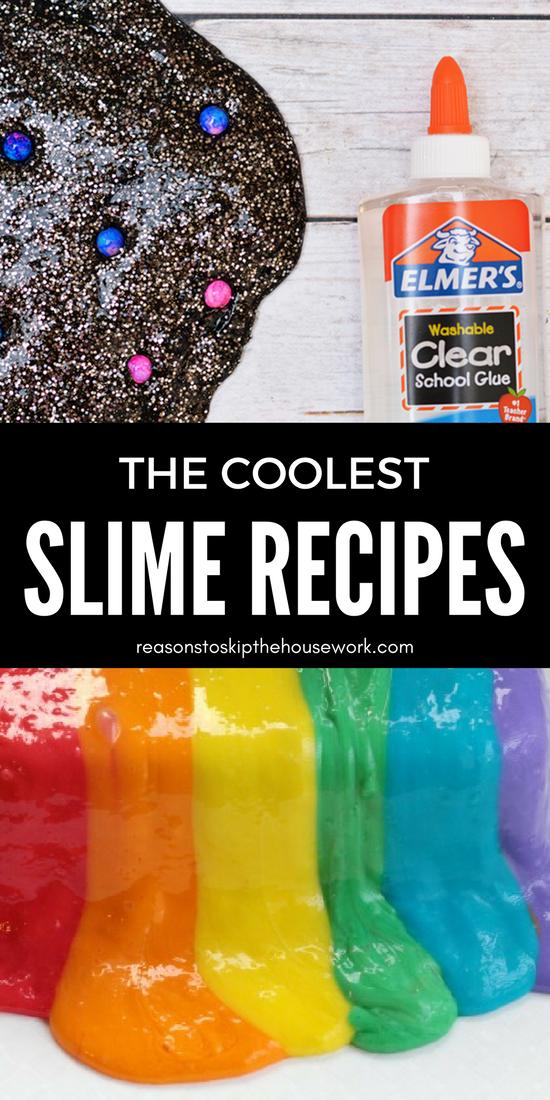 Simple Slime Recipes