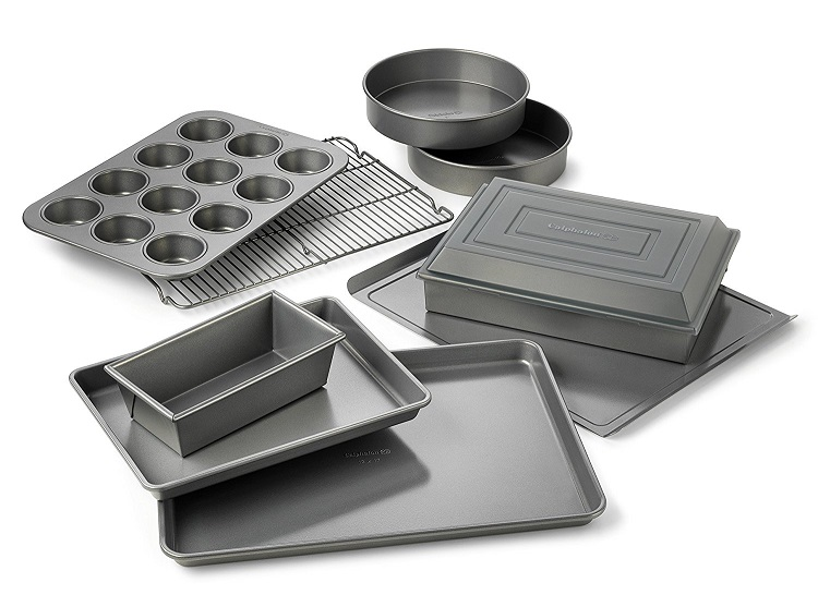 Calphalon Nonstick Bakeware 10-pc. Bakeware Set - top baking sheet
