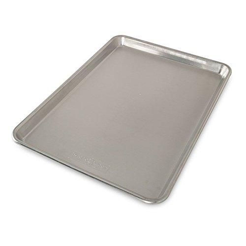Nordic Ware Natural Aluminum Commercial Baker's Half Sheet - top baking sheet