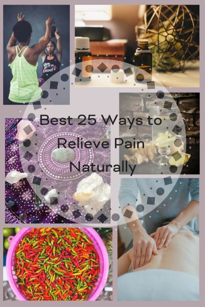Best 25 Ways to Relieve Pain Naturally