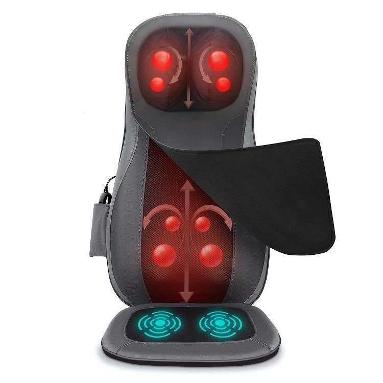 Naipo Back Massager Shiatsu Massage Seat