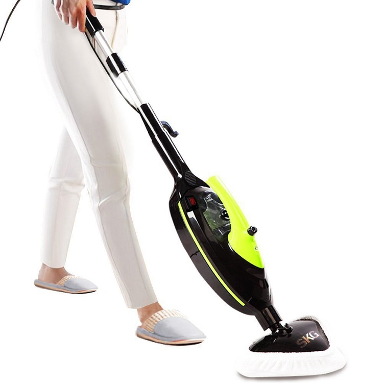 SKG 1500W Powerful Non-Chemical 212F Hot Steam Mop