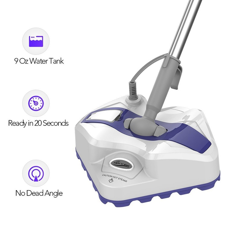 light n easy Steam Mop - Steam Cleaner