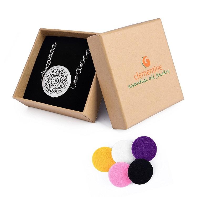 Aromatherapy Jewelry by Clementine