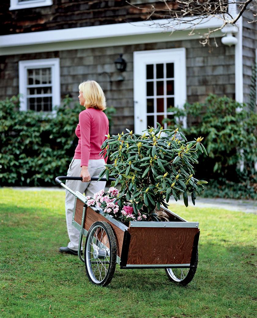 Top garden wagon