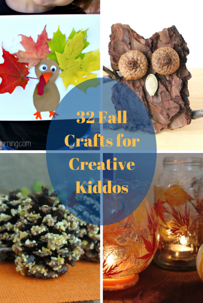fall crafts for creative kiddos