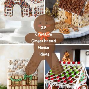 27 Creative Gingerbread House Ideas