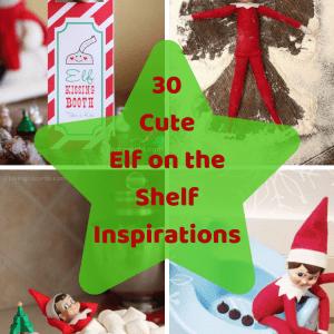 30 Cute Elf on the Shelf Inspirations