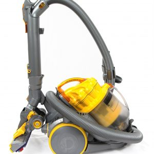 Yellow handheld vacuum