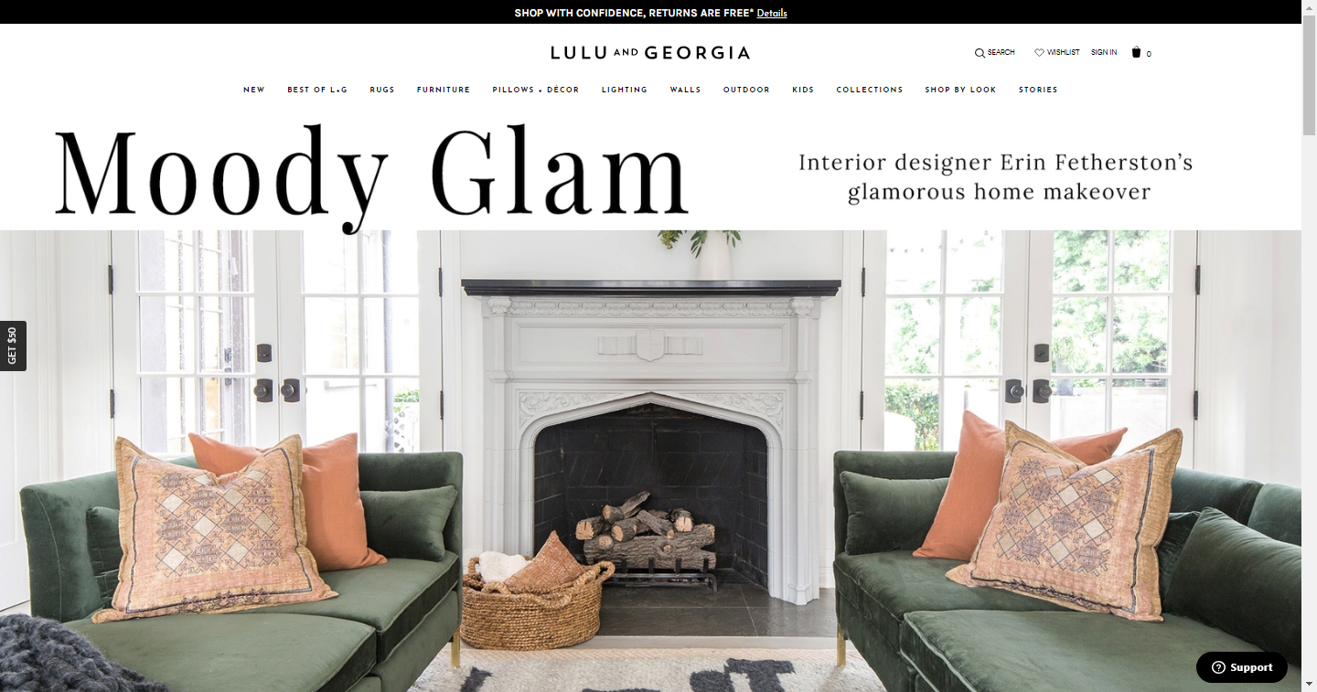 lulu and georgia website