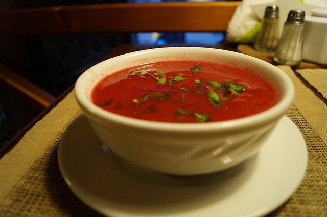 a bowl of a delicious Tomato Soup